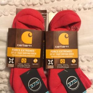 Four pairs force extreme Carhartt fast drying sock